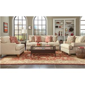 Craftmaster C9 Custom Collection <b>Custom</b> Living Room Group