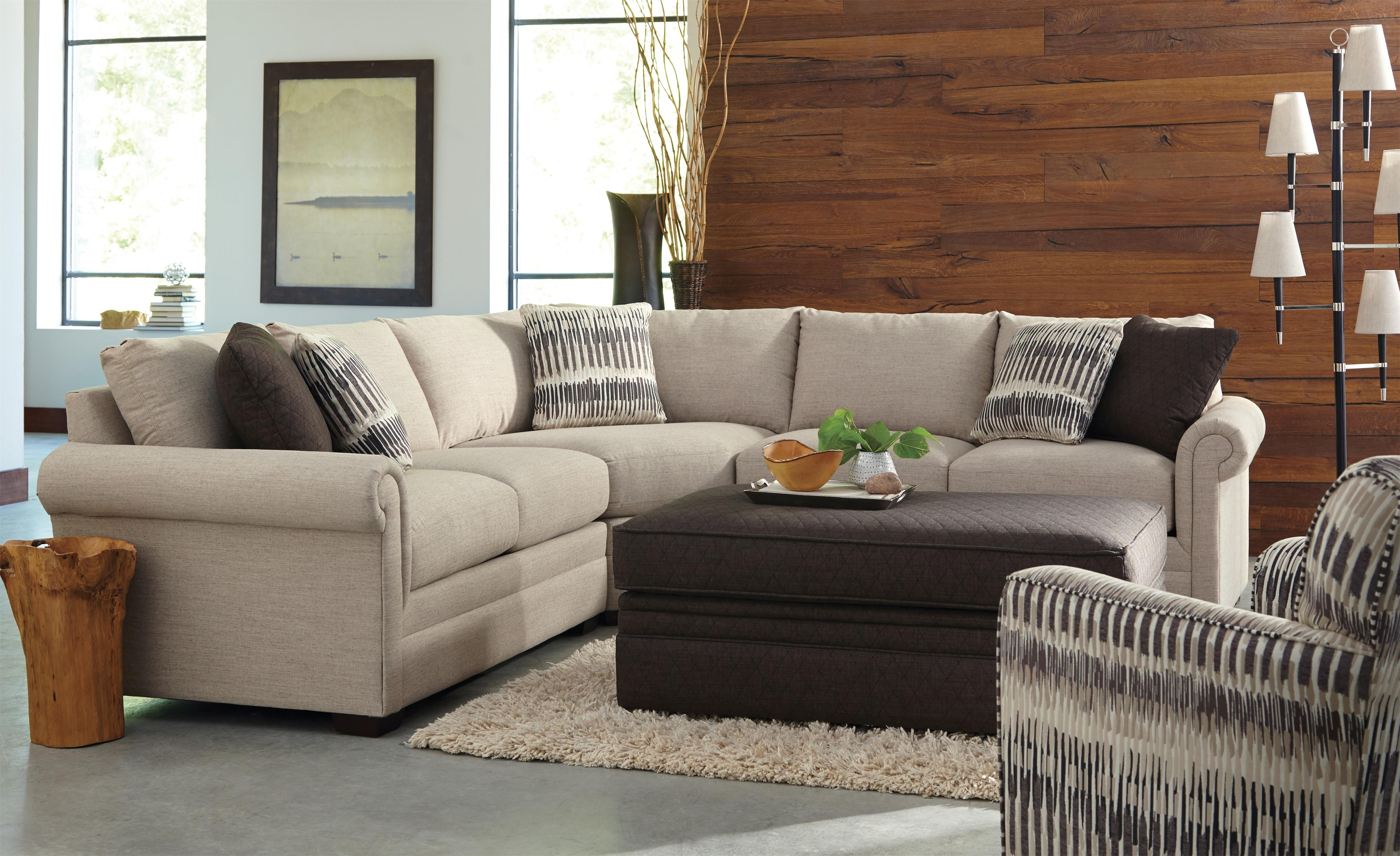 F9 Custom Collection Stationary Living Room Group by Craftmaster at Lindy's Furniture Company
