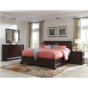 Cresent Fine Furniture Newport Queen Bedroom Group