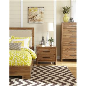 Cresent Fine Furniture Waverly Cal King Bedroom Group