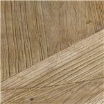 Features a Natural Wax Finish on Artisan Crafted Reclaimed Pine Wood