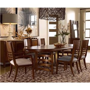 Drexel Renderings Formal Dining Room Group