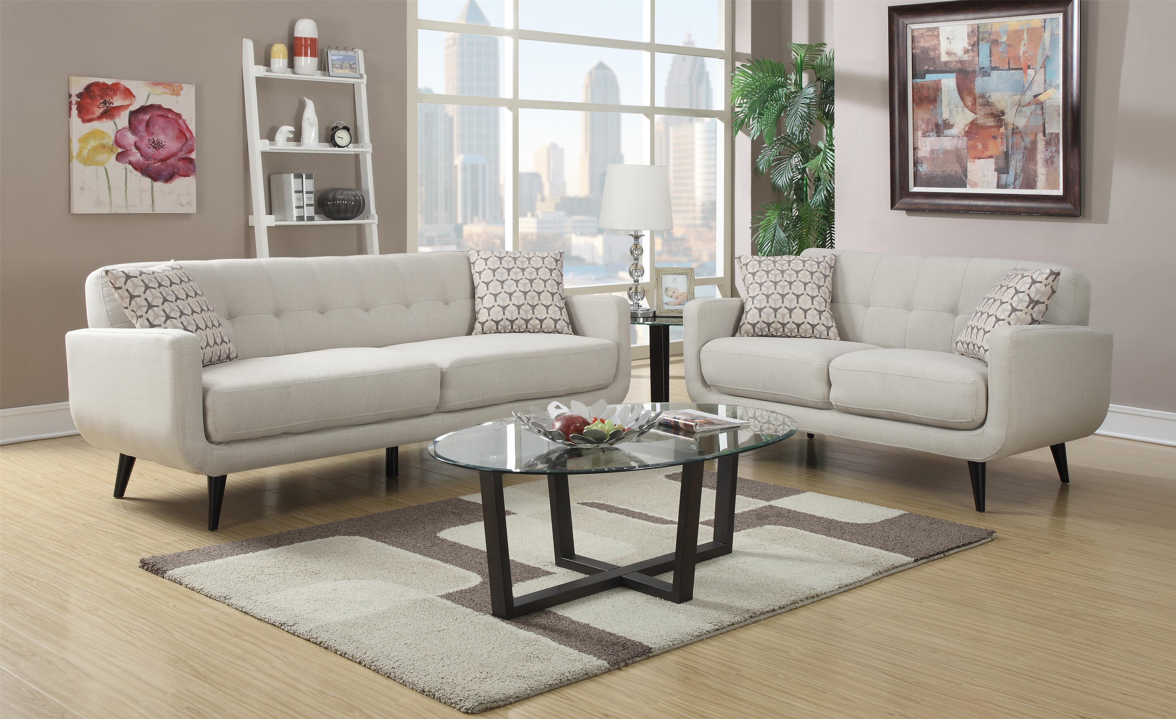 Hadley Stationary Living Room Group by Elements International at Wilcox Furniture