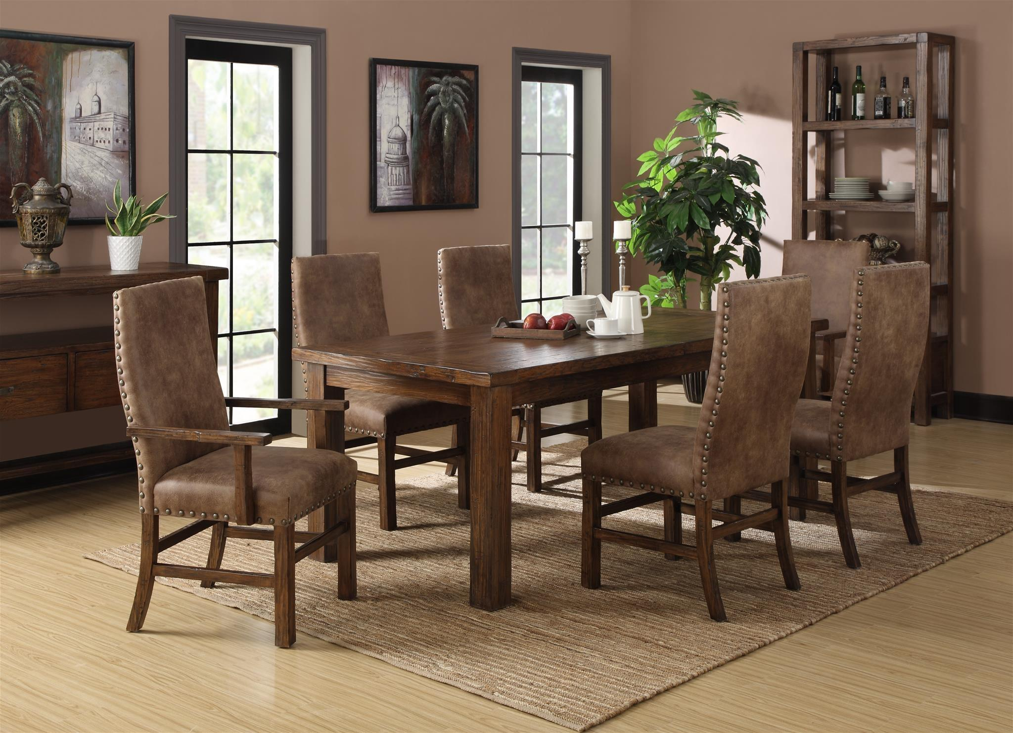 Chambers Creek Formal Dining Room Group at Sadler's Home Furnishings