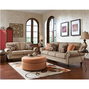 England Amix  Stationary Living Room Group