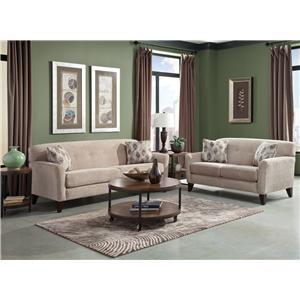 England Shockley Stationary Living Room Group