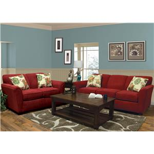 England Smyrna Stationary Living Room Group