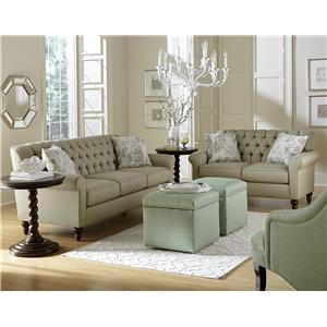 England Vespers Stationary Living Room Group
