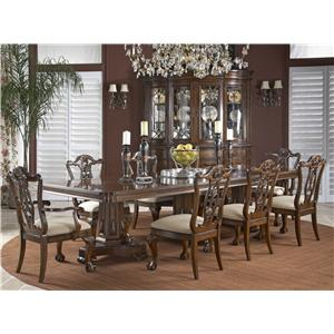 Fine Furniture Design Antebellum Formal Dining Room Group