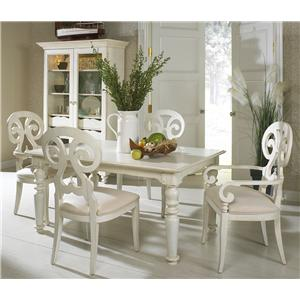 Fine Furniture Design Summer Home Formal Dining Room Group