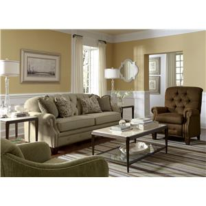 Stationary Fabric Living Room Group