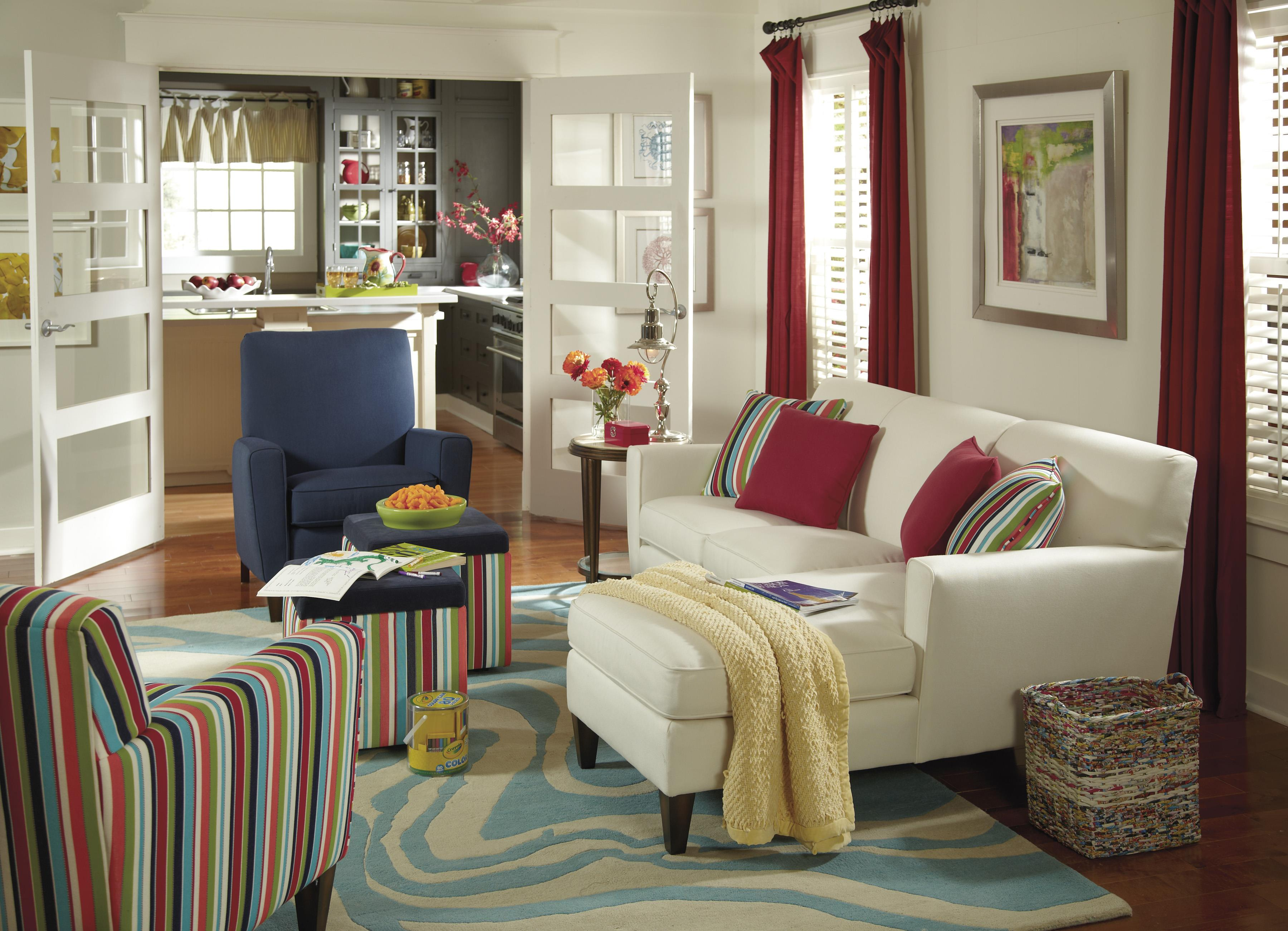 Digby Stationary Living Room Group by Flexsteel at Jordan's Home Furnishings