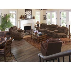 Flexsteel Latitudes - New Town Reclining Living Room Group