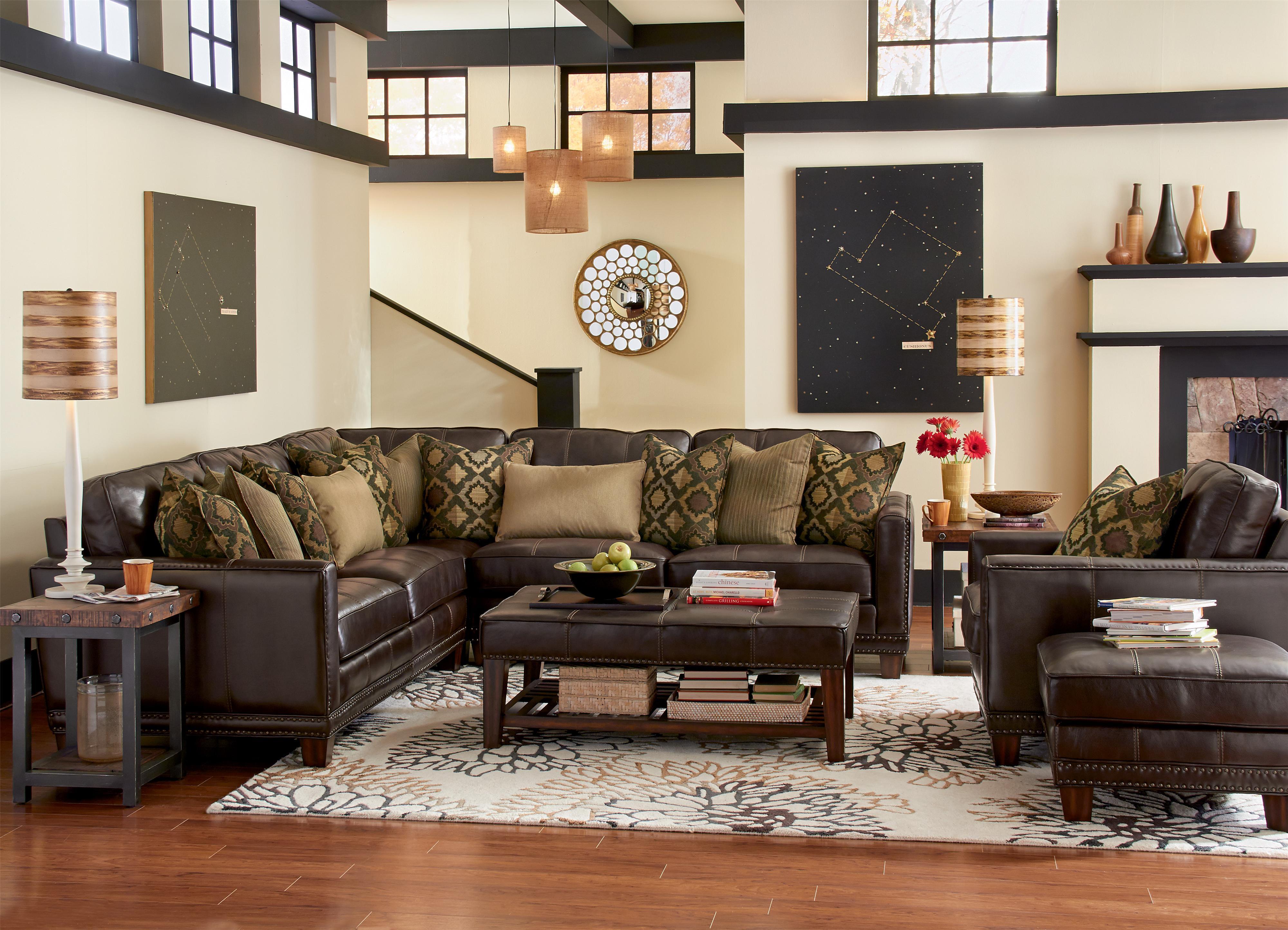 Latitudes - Port Royal Stationary Living Room Group by Flexsteel at Mueller Furniture