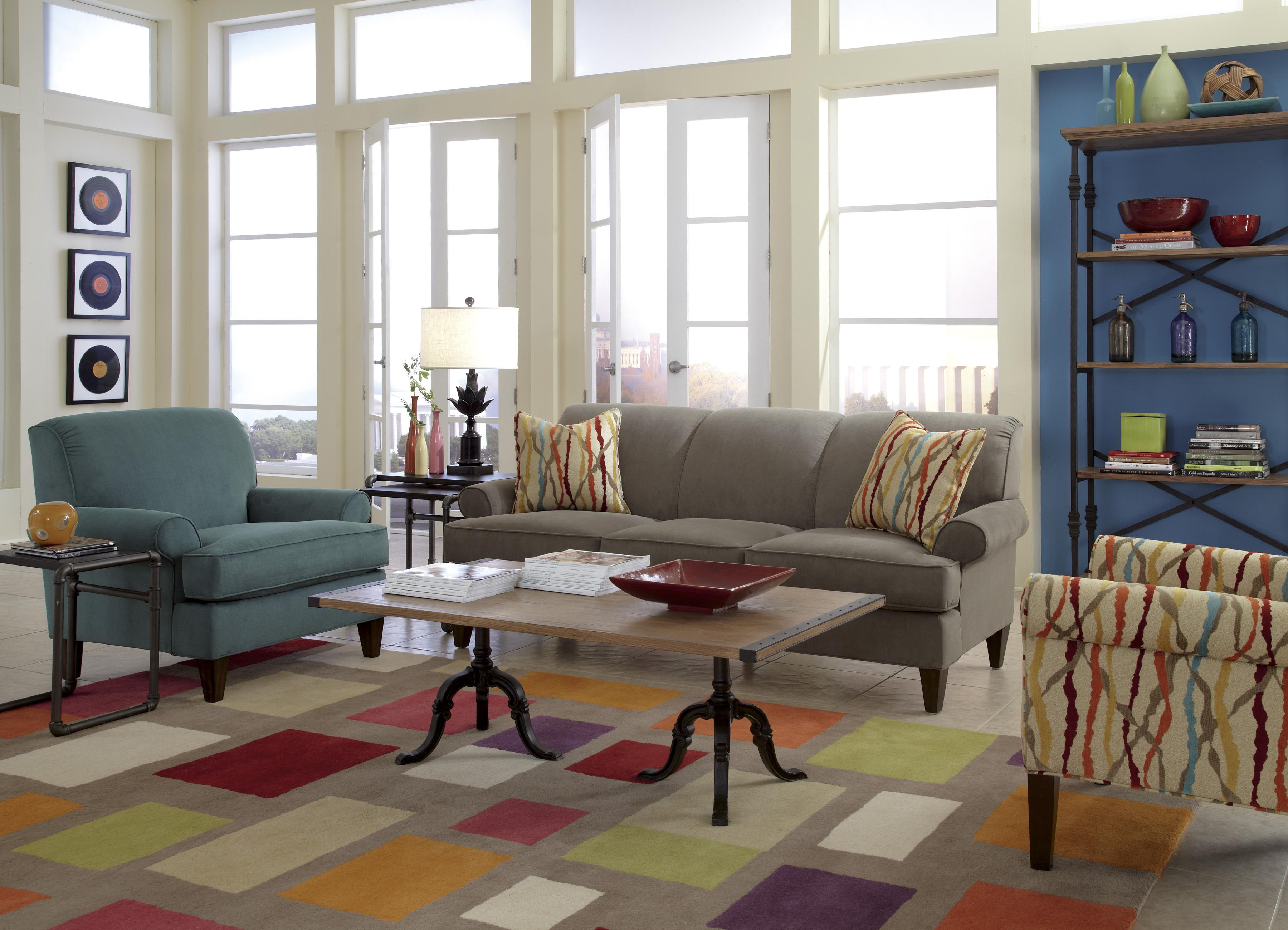 Venture Stationary Living Room Group by Flexsteel at Pilgrim Furniture City