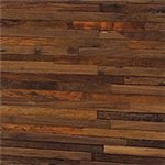 Recycled Wood with a Natural/Dark Walnut Finish