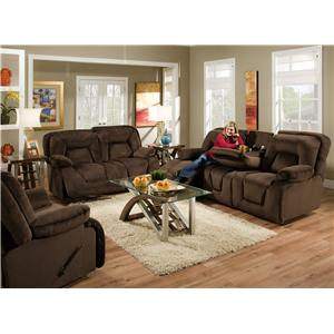 Franklin 473  Reclining Living Room Group