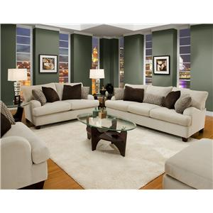 Franklin 809 Stationary Living Room Group