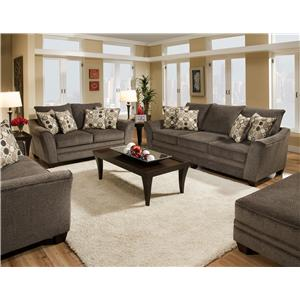Franklin 811 Abbot Stationary Living Room Group