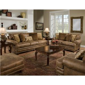 Franklin 817 Stationary Living Room Group