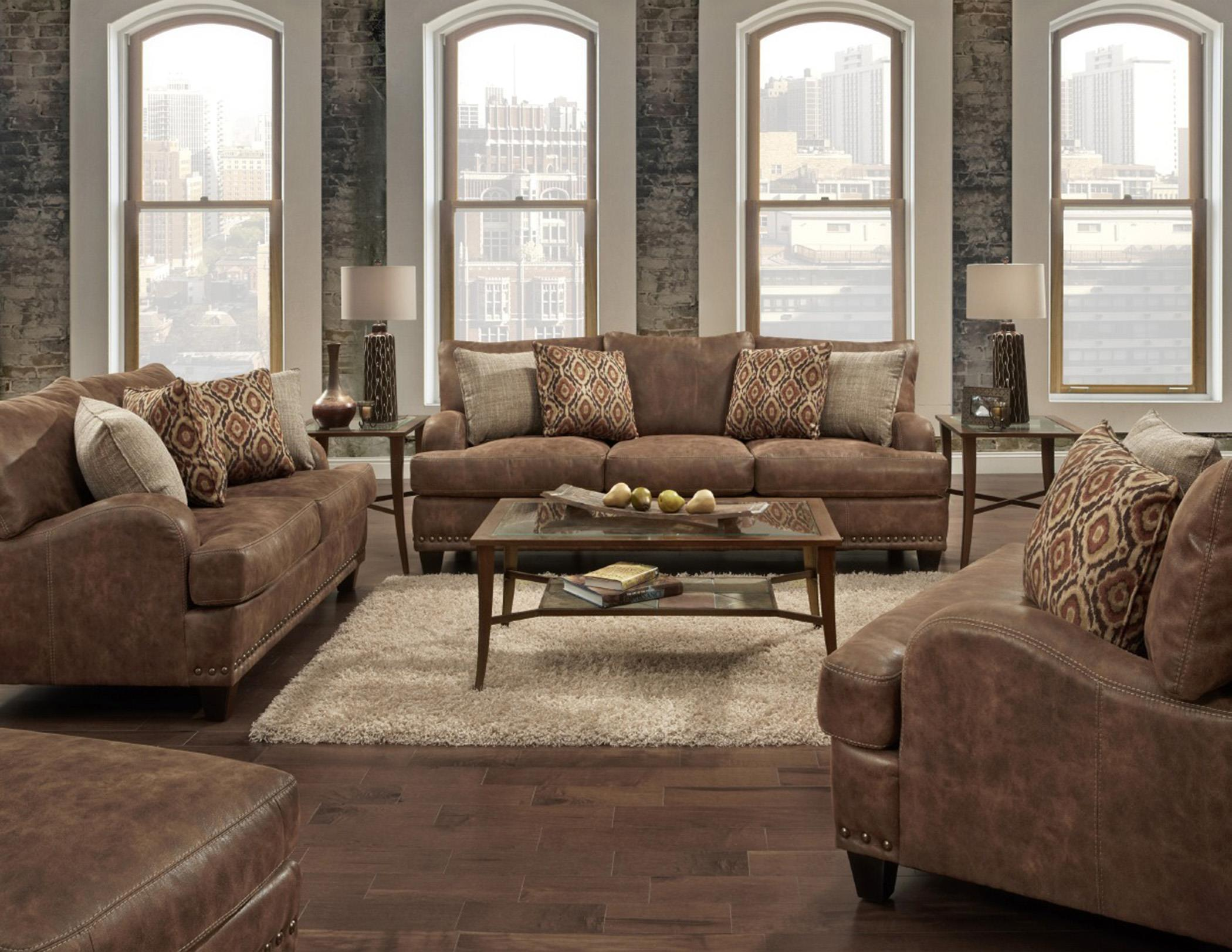 848 Stationary Living Room Group by Franklin at Fine Home Furnishings