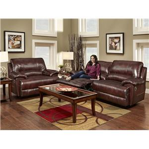 Franklin Caswell Reclining Living Room Group