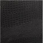 Black Crocodile Leatherette