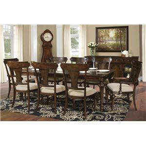 Hekman Charleston Place Dining Room Group 2