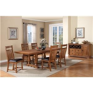 Holland House Bryce Canyon Formal Dining Room Group