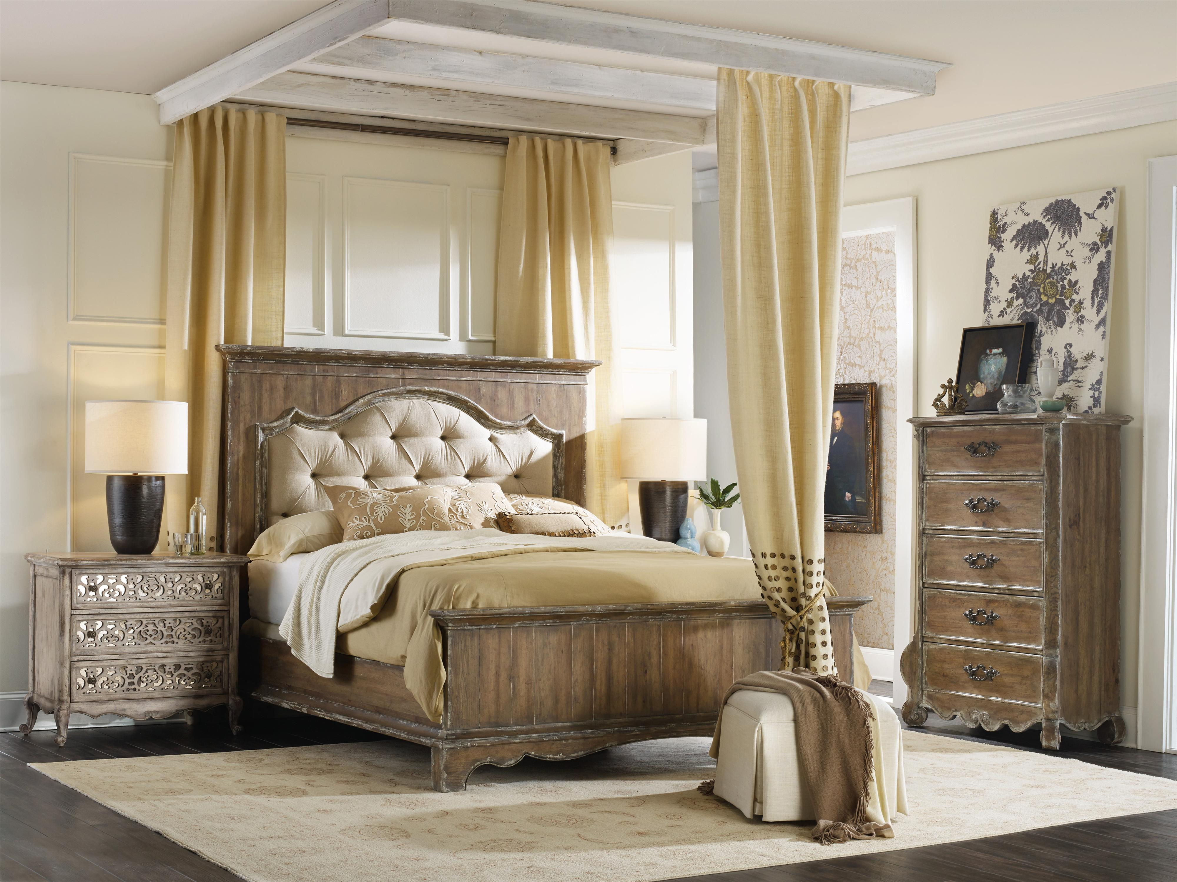 Chatelet Queen Bedroom Group by Hooker Furniture at Alison Craig Home Furnishings