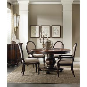 Hooker Furniture Eastridge Round Table Dining Room Group