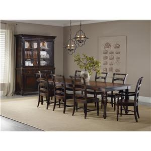 Hooker Furniture Eastridge Rectangle Table Dining Room Group