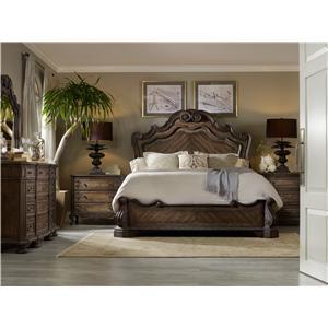 Hooker Furniture Rhapsody California King Bedroom Group