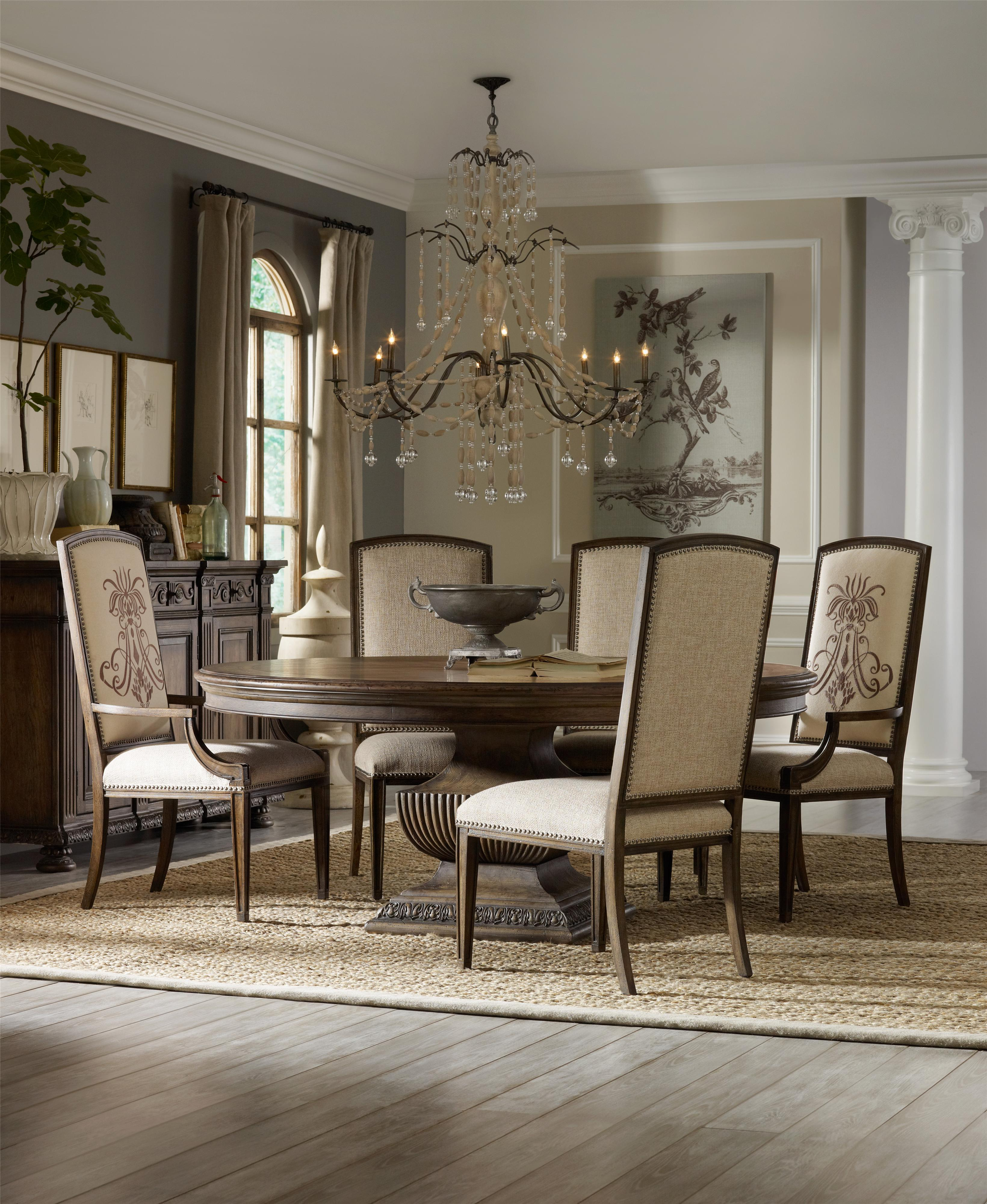 Rhapsody Dining Room Group by Hooker Furniture at Alison Craig Home Furnishings