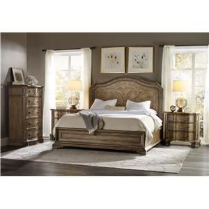 Hooker Furniture Solana California King Bedroom Group 1