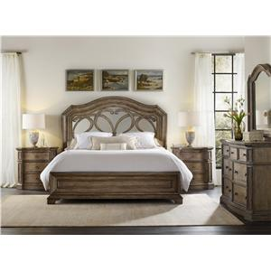 Hooker Furniture Solana California King Bedroom Group 2