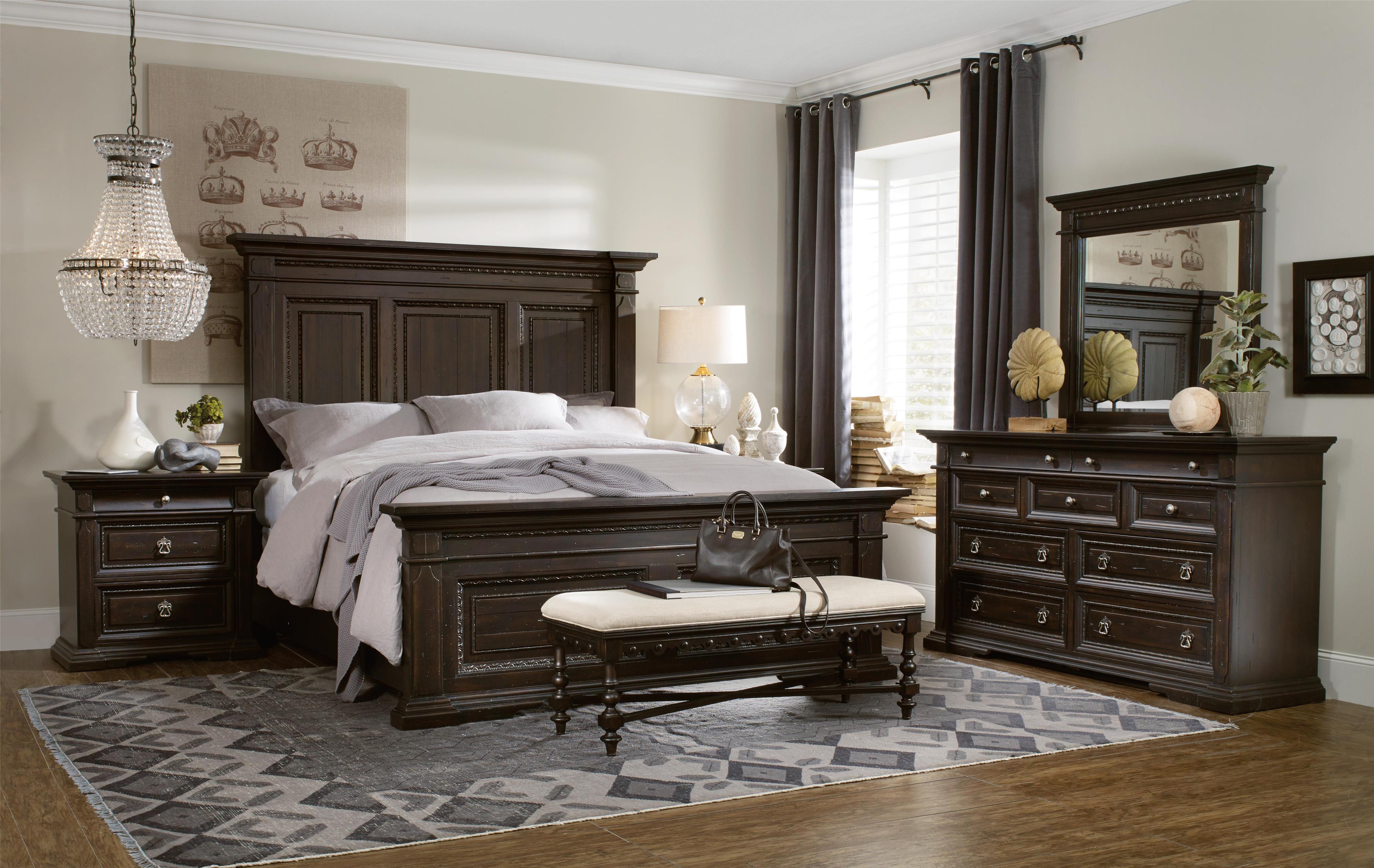 Treviso Queen Bedroom Group by Hooker Furniture at Baer's Furniture