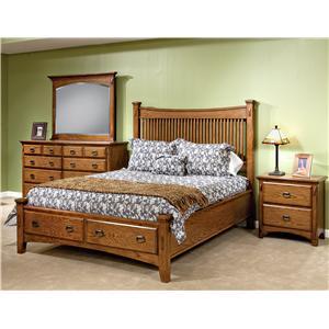 Intercon Pasadena Revival  Bedroom Group