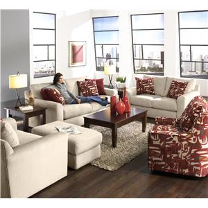 Jackson Furniture Sutton  Stationary Living Room Group