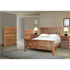 Jaipur Furniture Guru King Bedroom Group