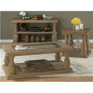 Jofran Big Sur Occasional Table Group