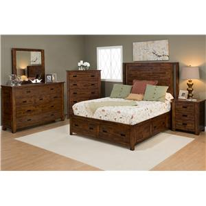 Jofran Coolidge Corner Bedroom Group