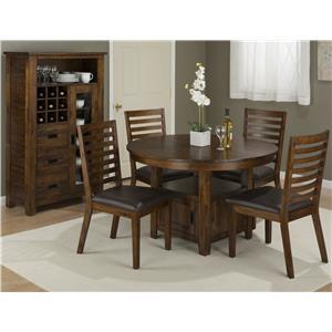 Jofran Coolidge Corner Casual Dining Room Group