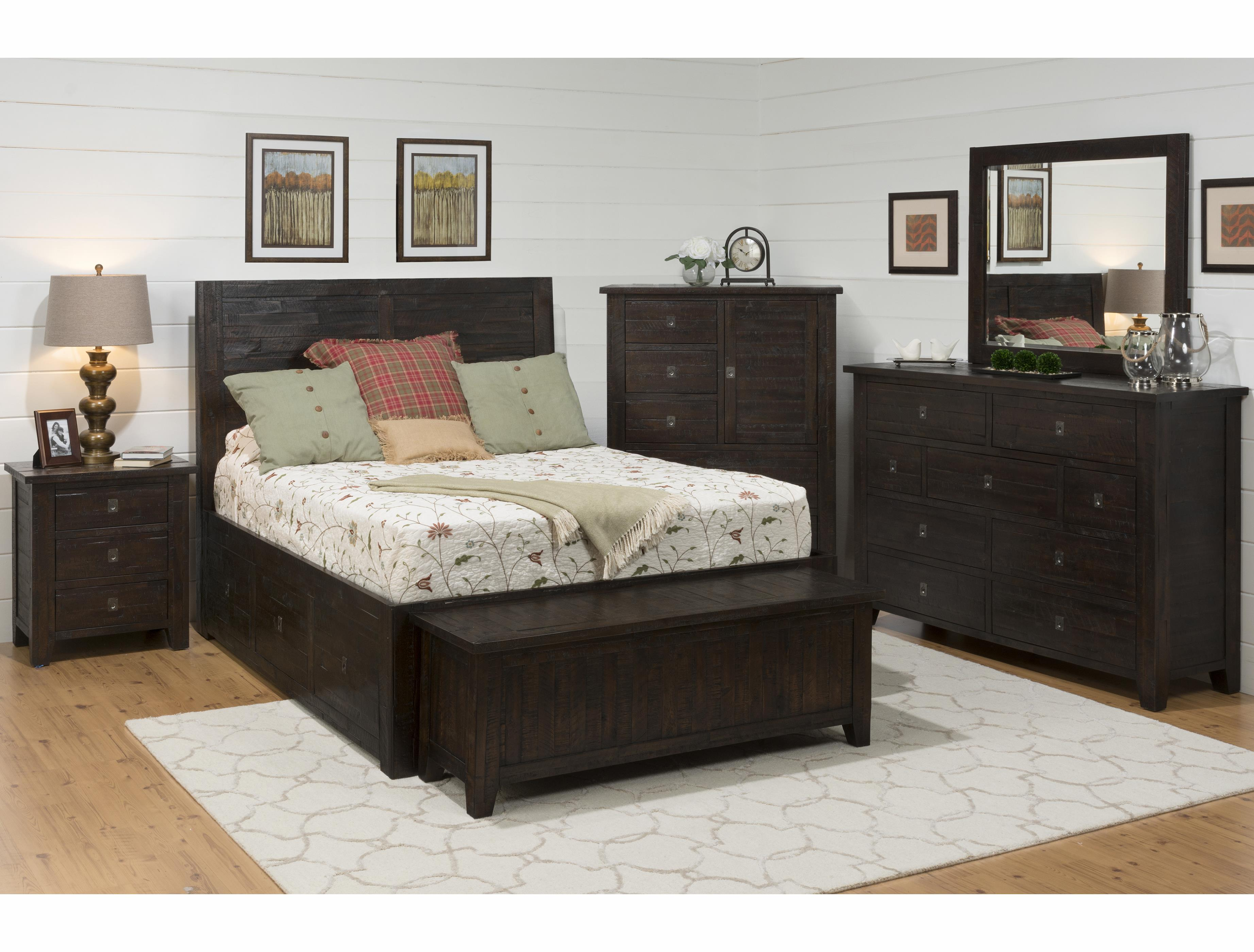 Kona Grove Queen Bedroom Group by Jofran at Fine Home Furnishings