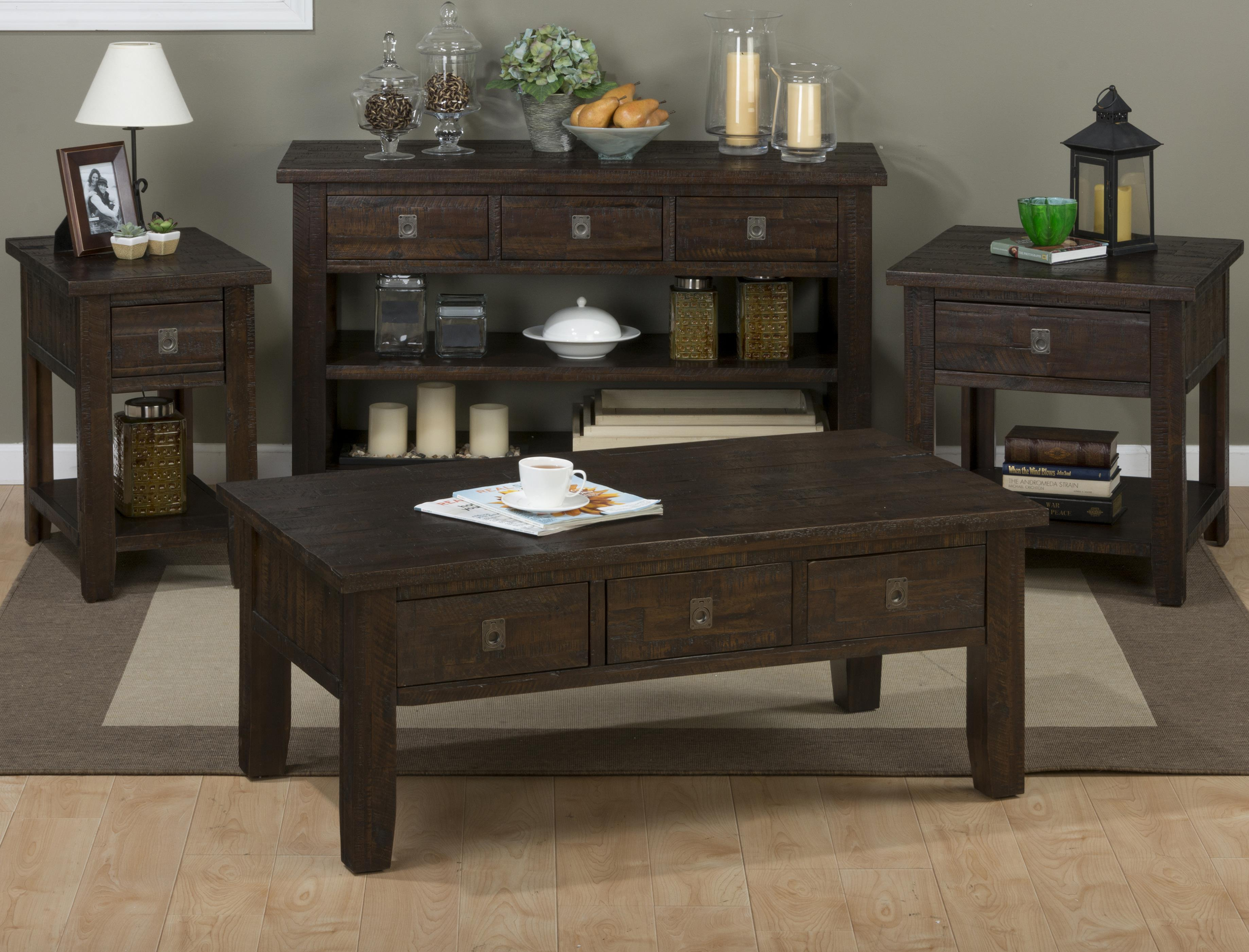 Kona Grove Occasional Table Group by Jofran at Stoney Creek Furniture