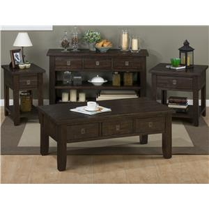 Jofran Kona Grove Occasional Table Group