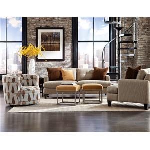 Jonathan Louis Mia Stationary Living Room Group