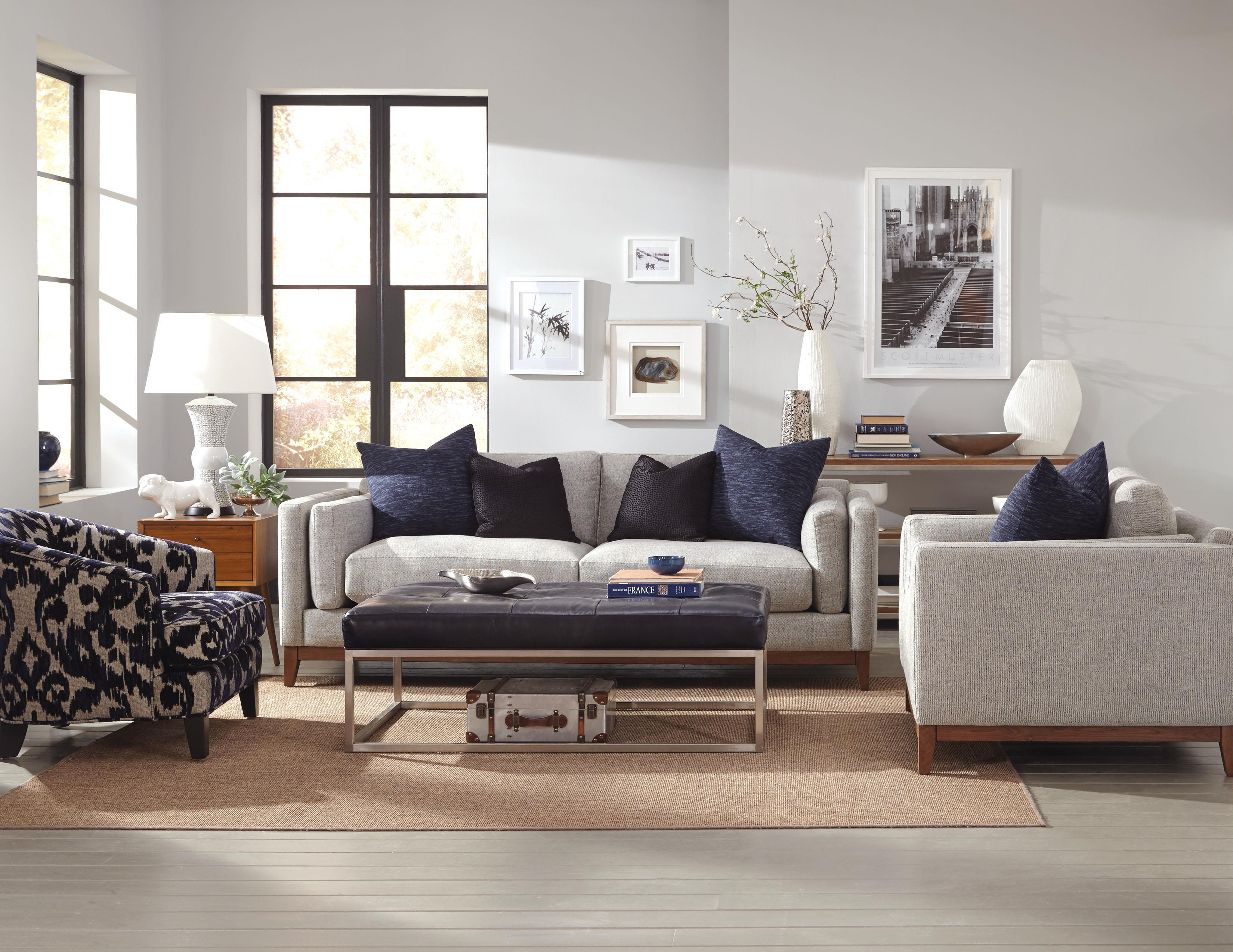 Kelsey Stationary Living Room Group by Jonathan Louis at HomeWorld Furniture