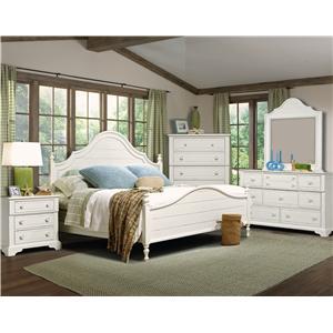 Vaughan Furniture Cottage Grove Full Bedroom Group