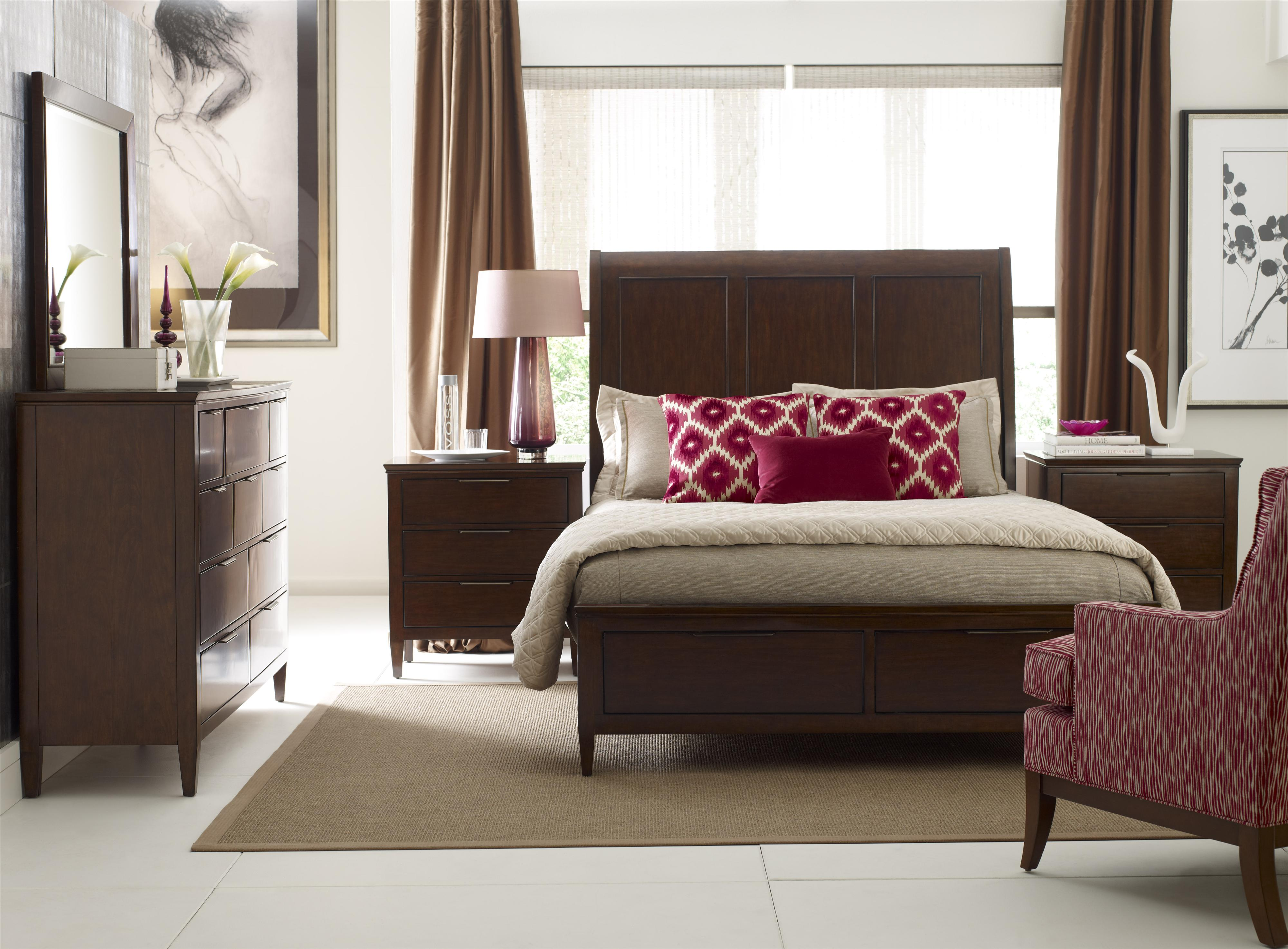 Elise Queen Bedroom Group by Kincaid Furniture at Johnny Janosik